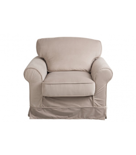 SILLON BEIG DOBLE COJÍN